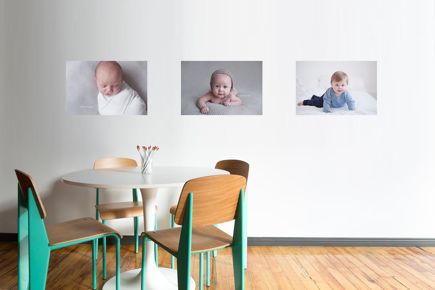 Baby photographer Glasgow - Displaying your images on the walls