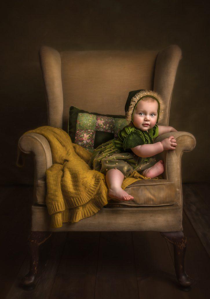 baby photoshoot glasgow