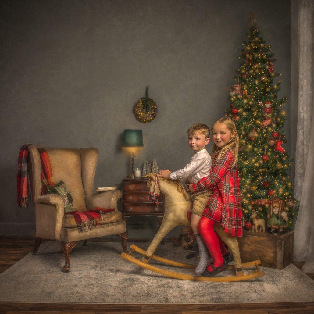 christmas mini photo session glasgow